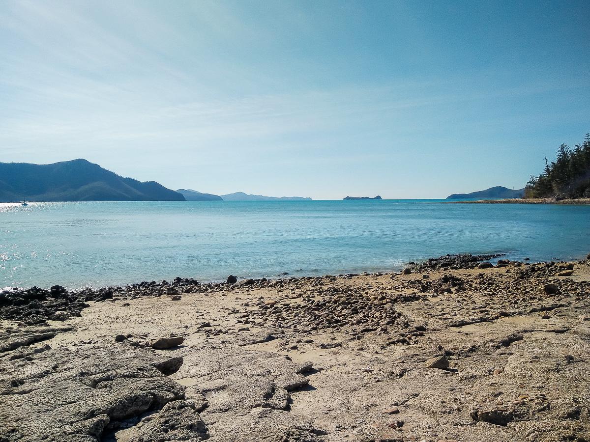 vue des îles whitsundays