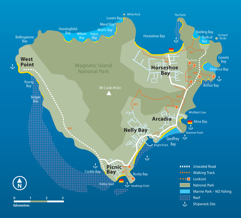 carte de magnetic island