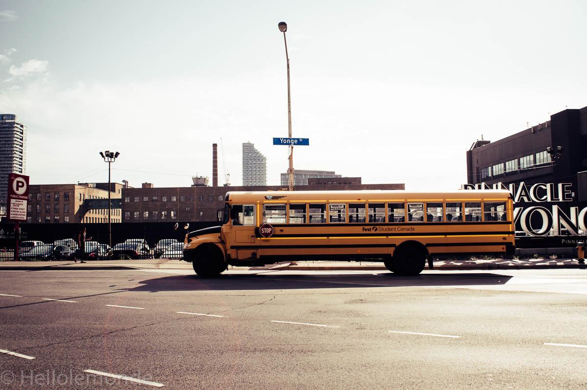 bus scolaire à toronto
