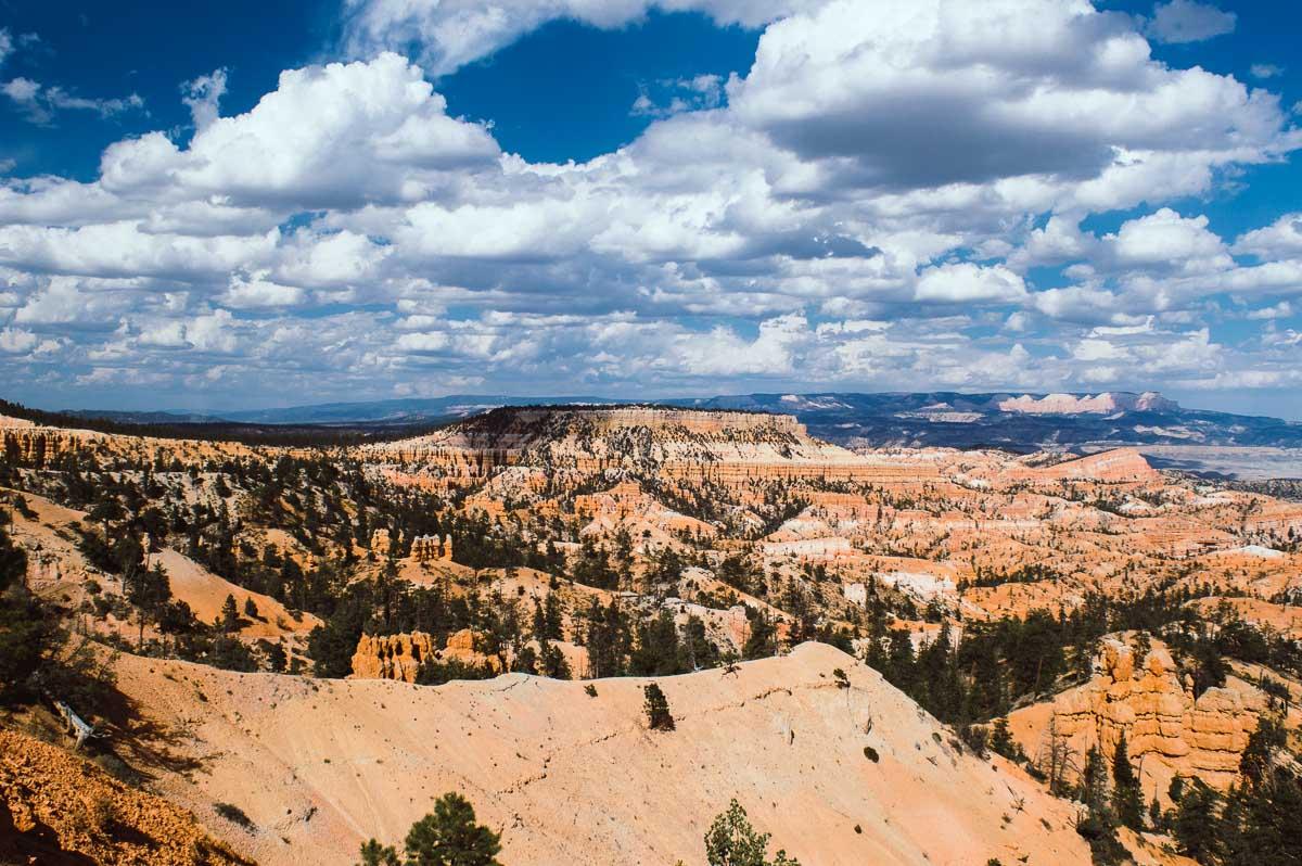 vue sur Bryce Canyon