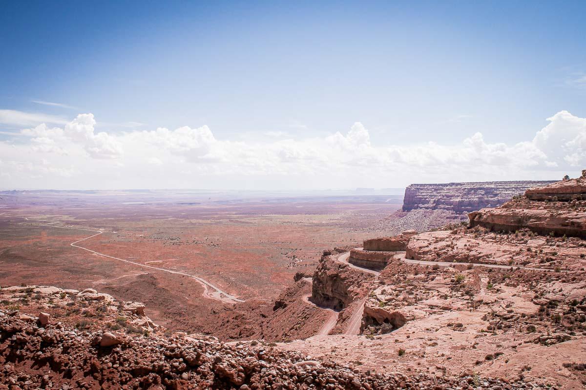 vue depuis la piste moki Duguay