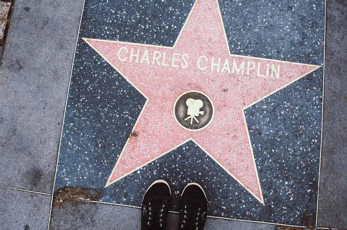 étoile sur le walk of fame à Hollywood