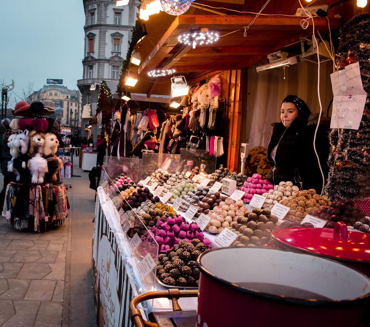 biscuits de noel à Budapest