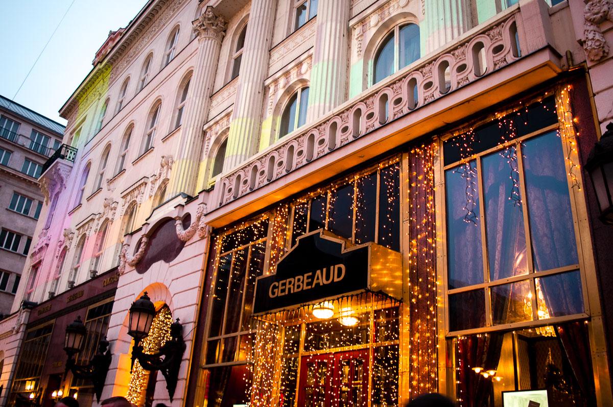 façade du café Gerbaud