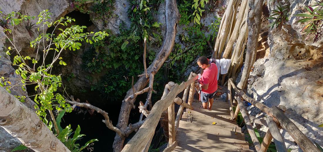 passerelle de cenote