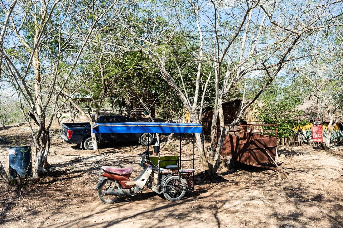 entrée des cenotes d'homun