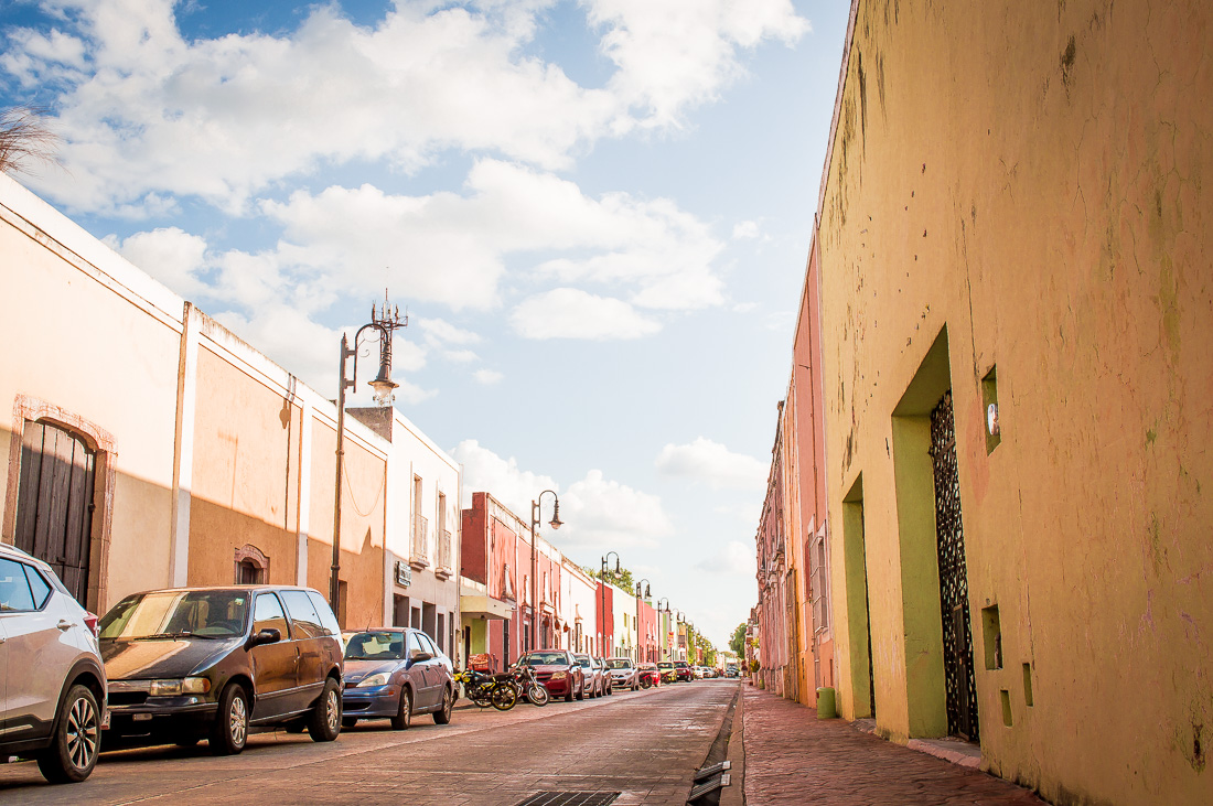 se promener dans la rue colorée de valladolid