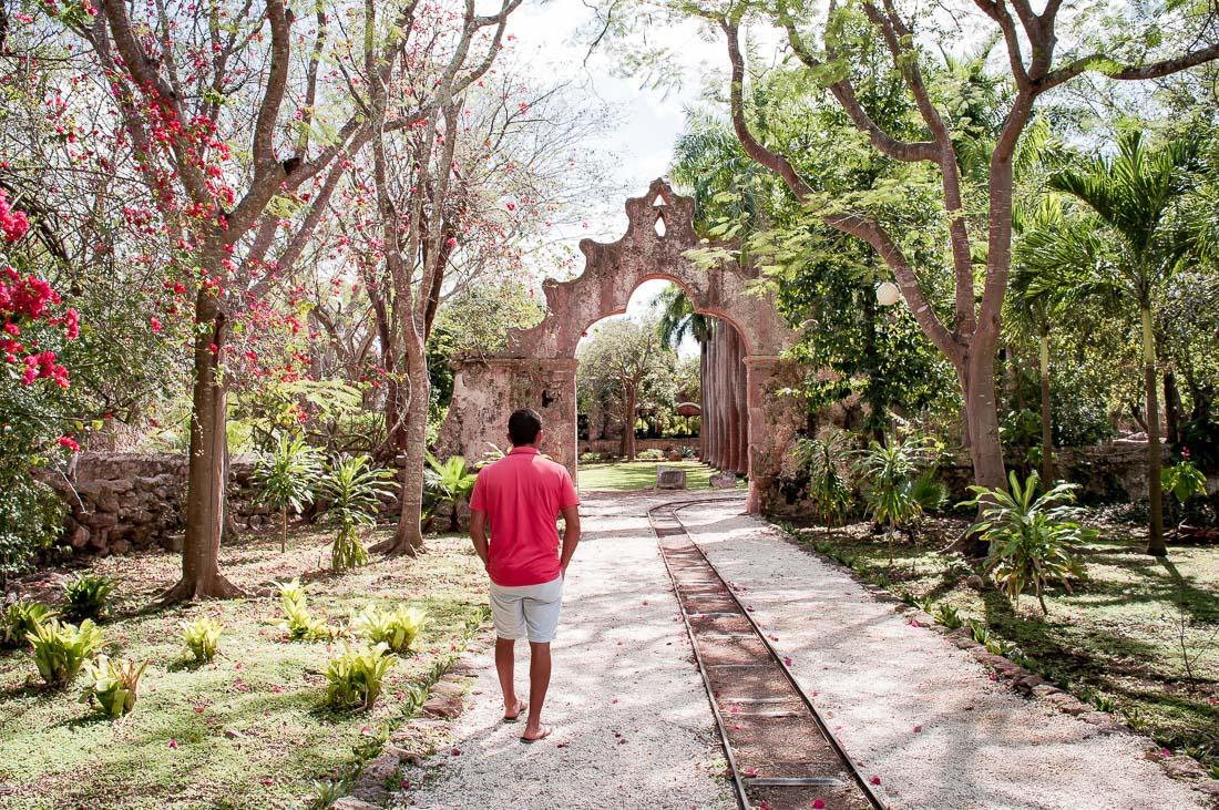 entrée de l'hacienda San Pedro de ochil