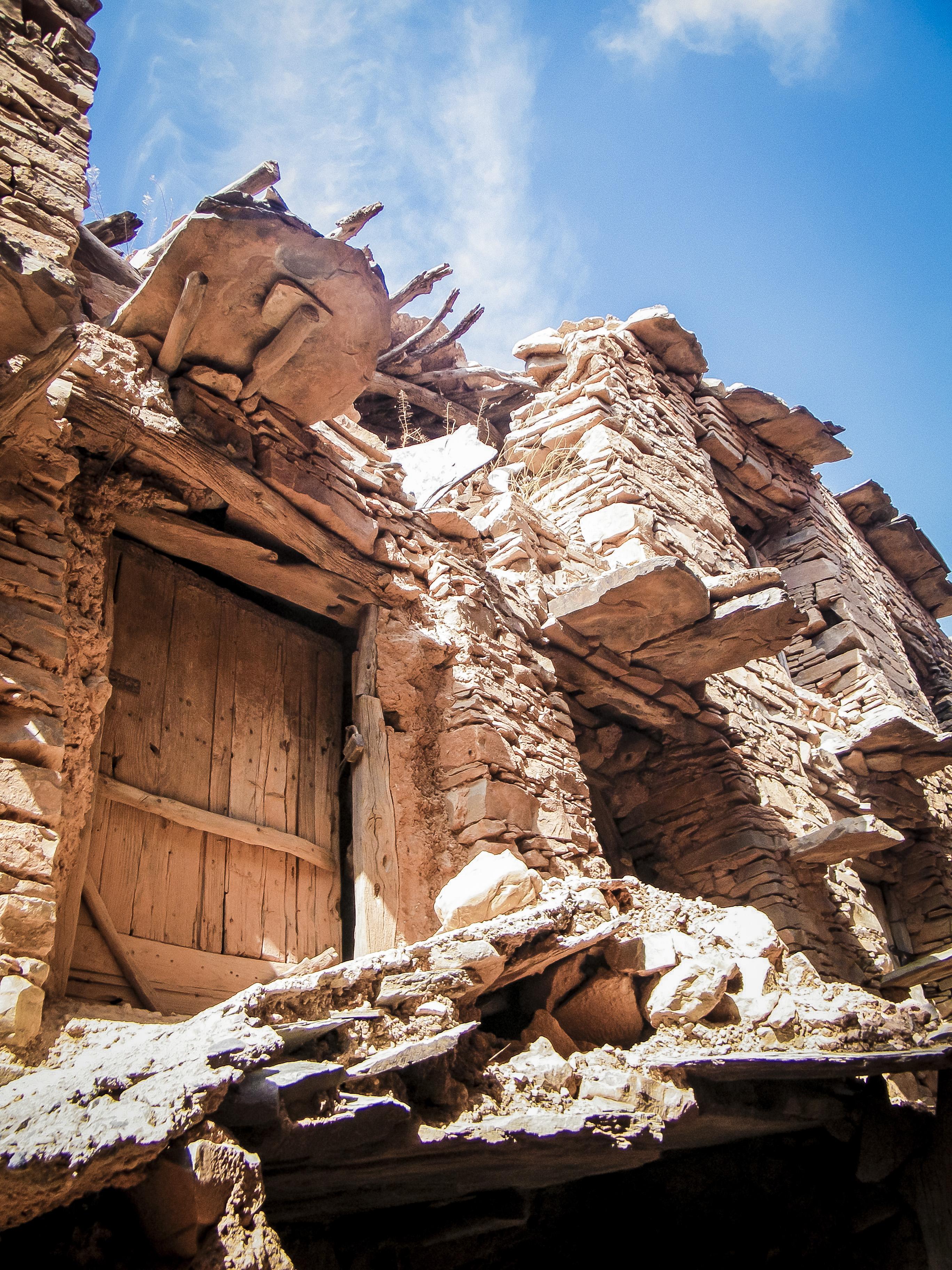 portes du grenier fortifié d'Imchguilguilm