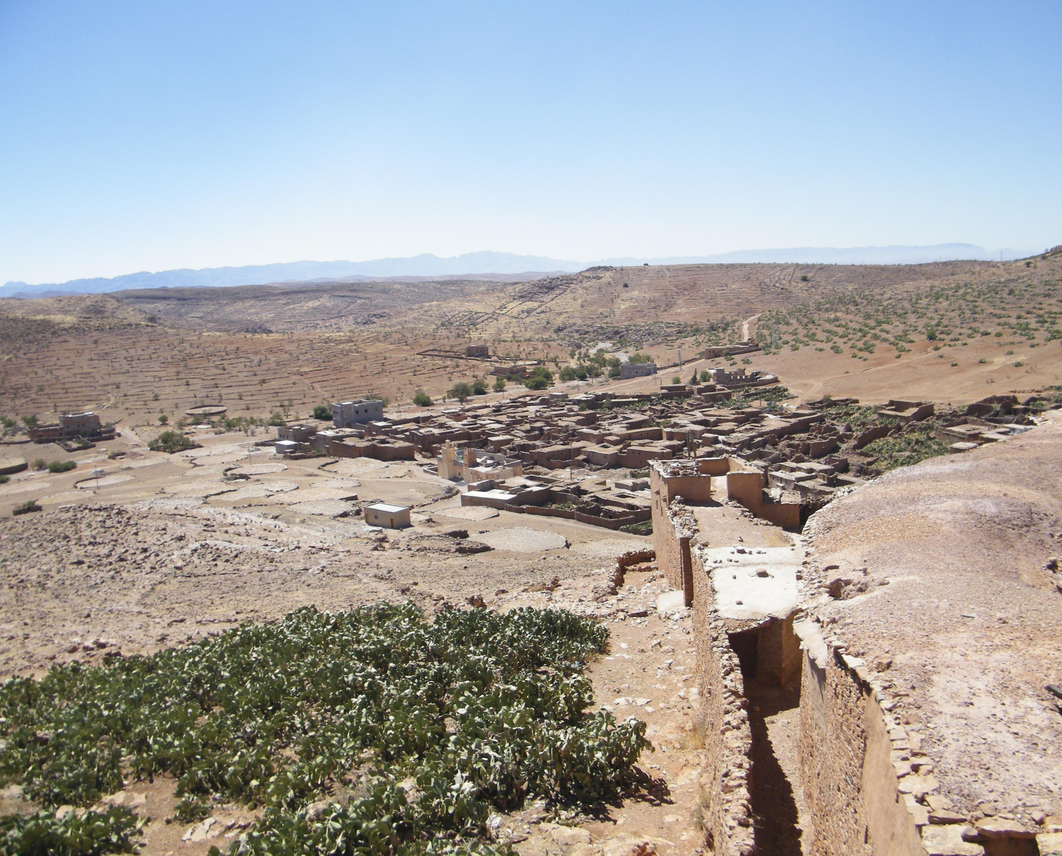 greniers berberes dans le souss marocain