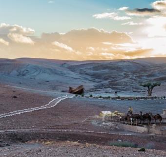 Agafay : Le désert à deux pas de Marrakech