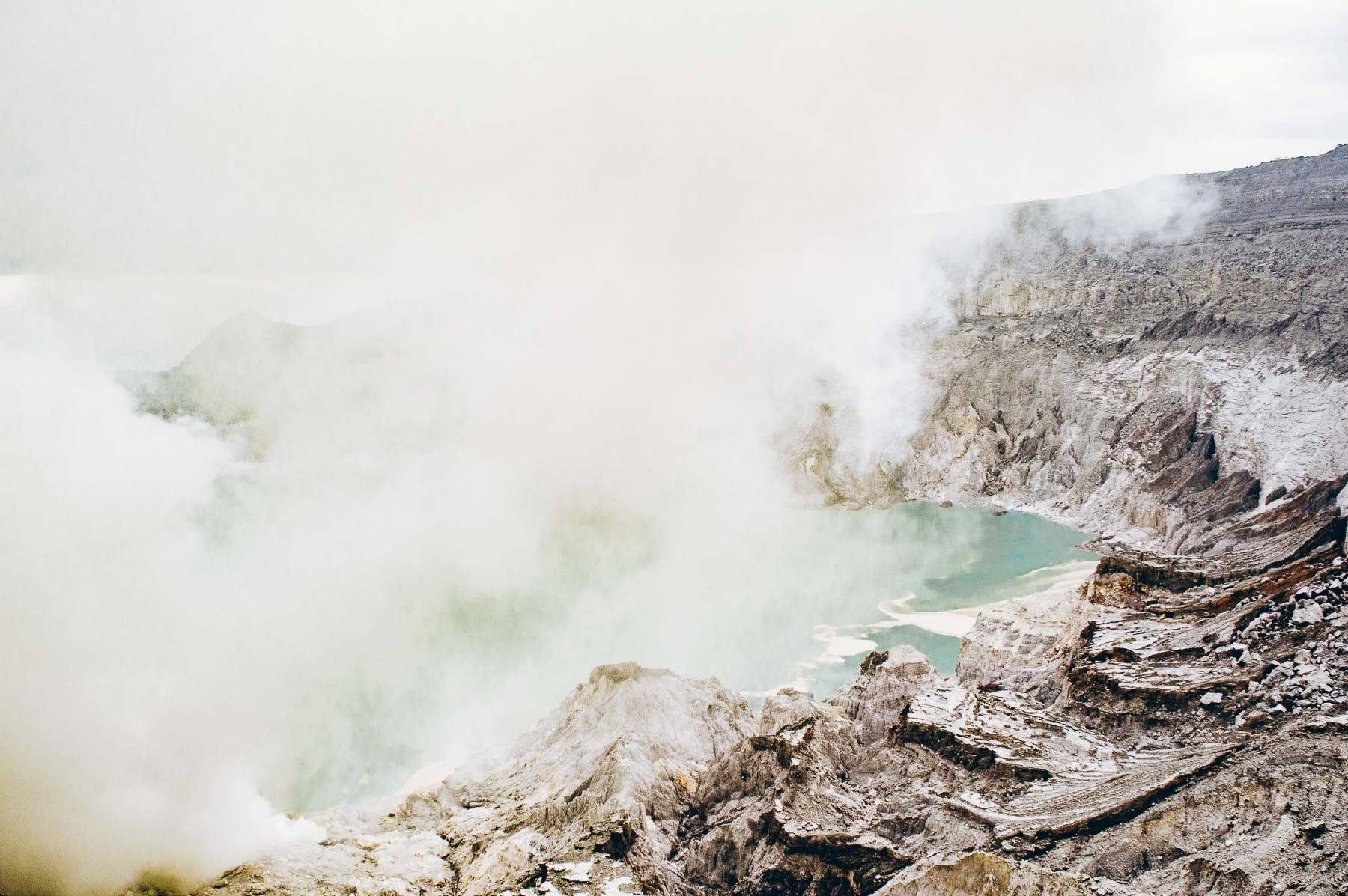 caldeira du volcan Ijen