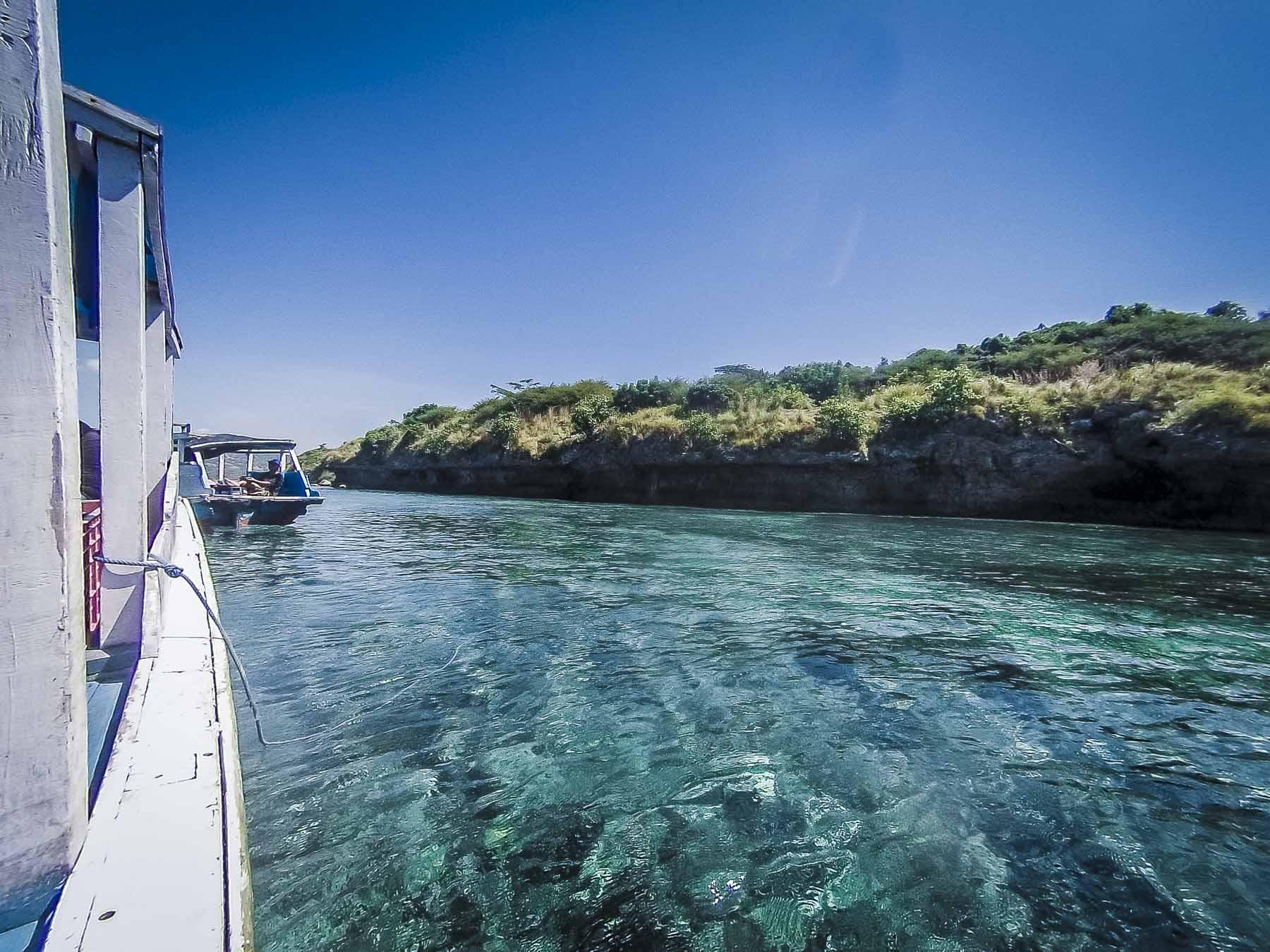 tour en bateau à Menjangan