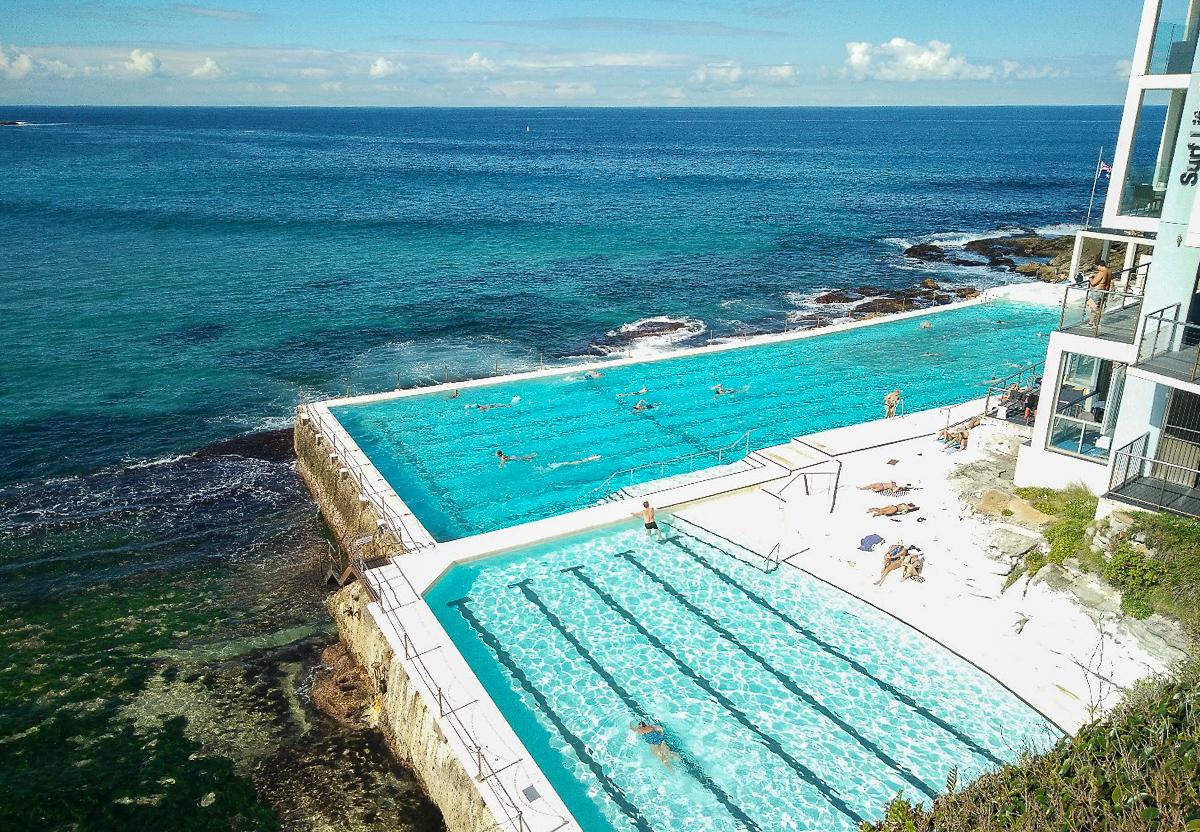 piscine d'eau de mer de Bondi à Sydney