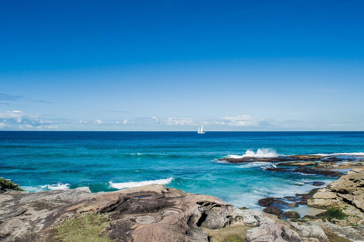 où est située la plage de bondi à Sydney