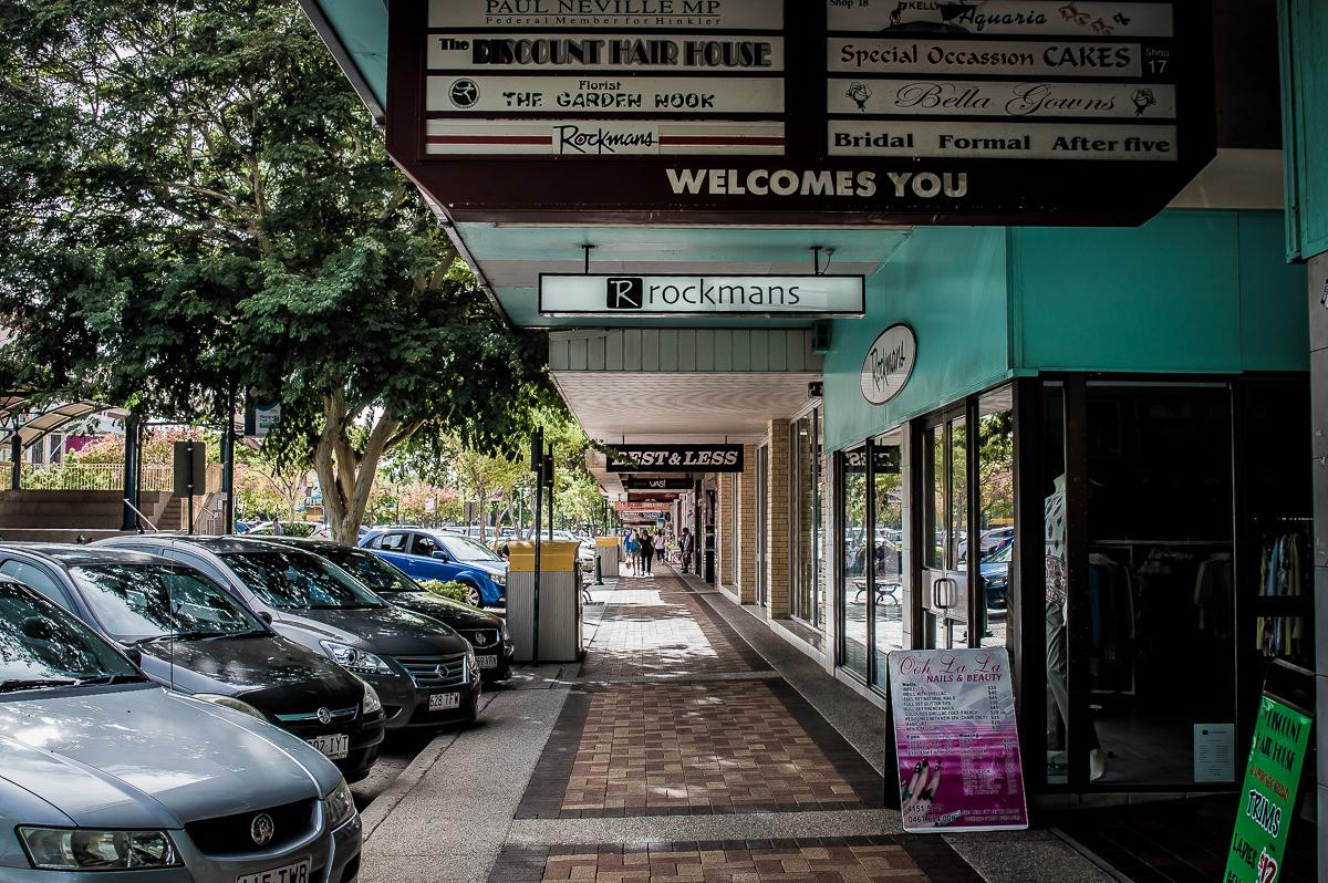 rue principale de Bundaberg
