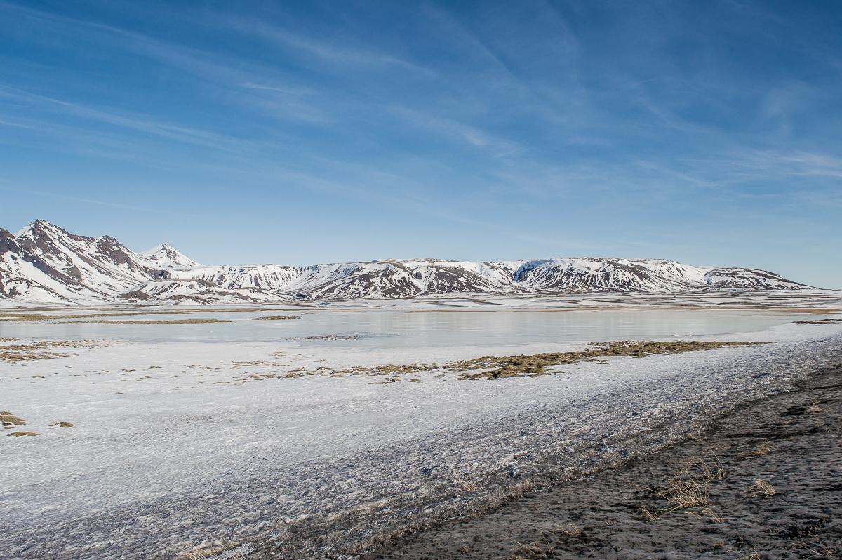 lac glacé en islande
