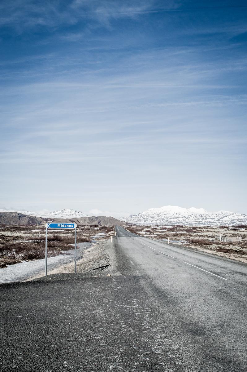 route circulaire en islande