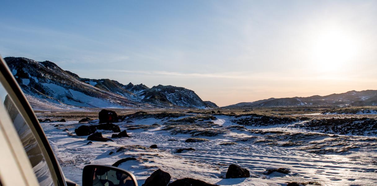 Roadtrip de 4 jours dans l'hiver islandais