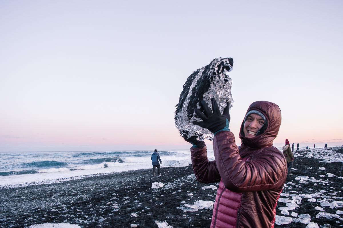 porter un iceberg