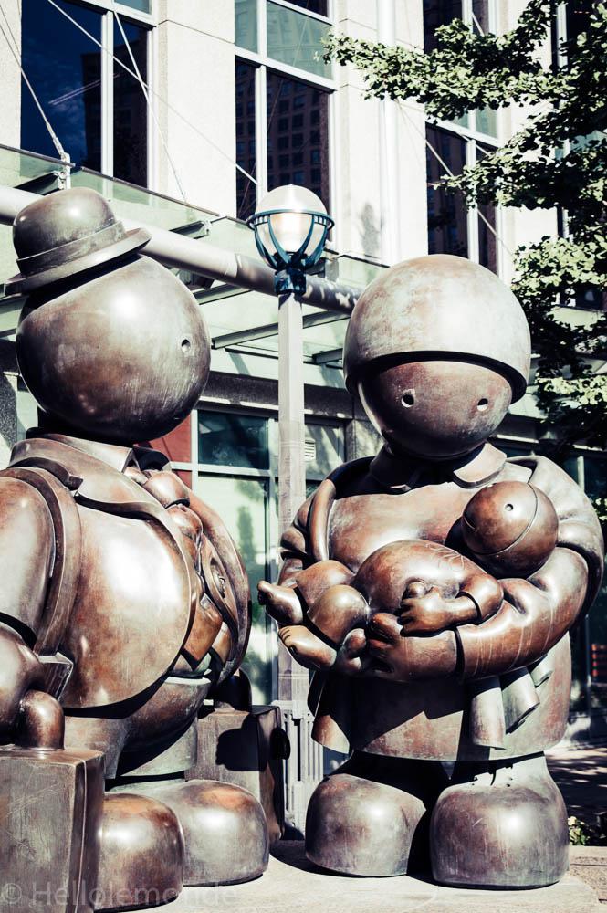 statues à toronto