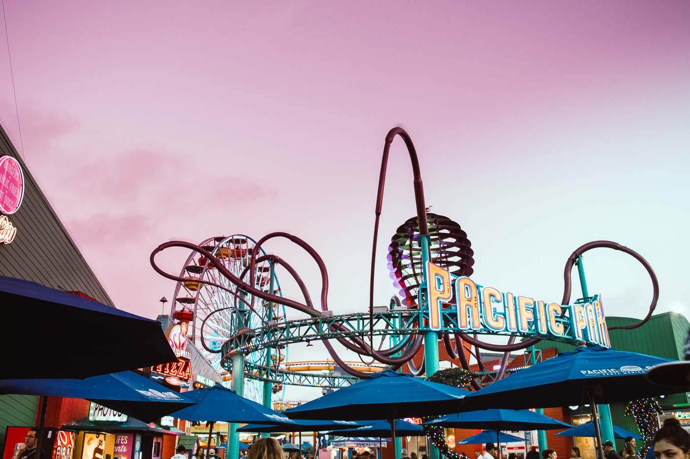 parc d'attraction de Santa Monica