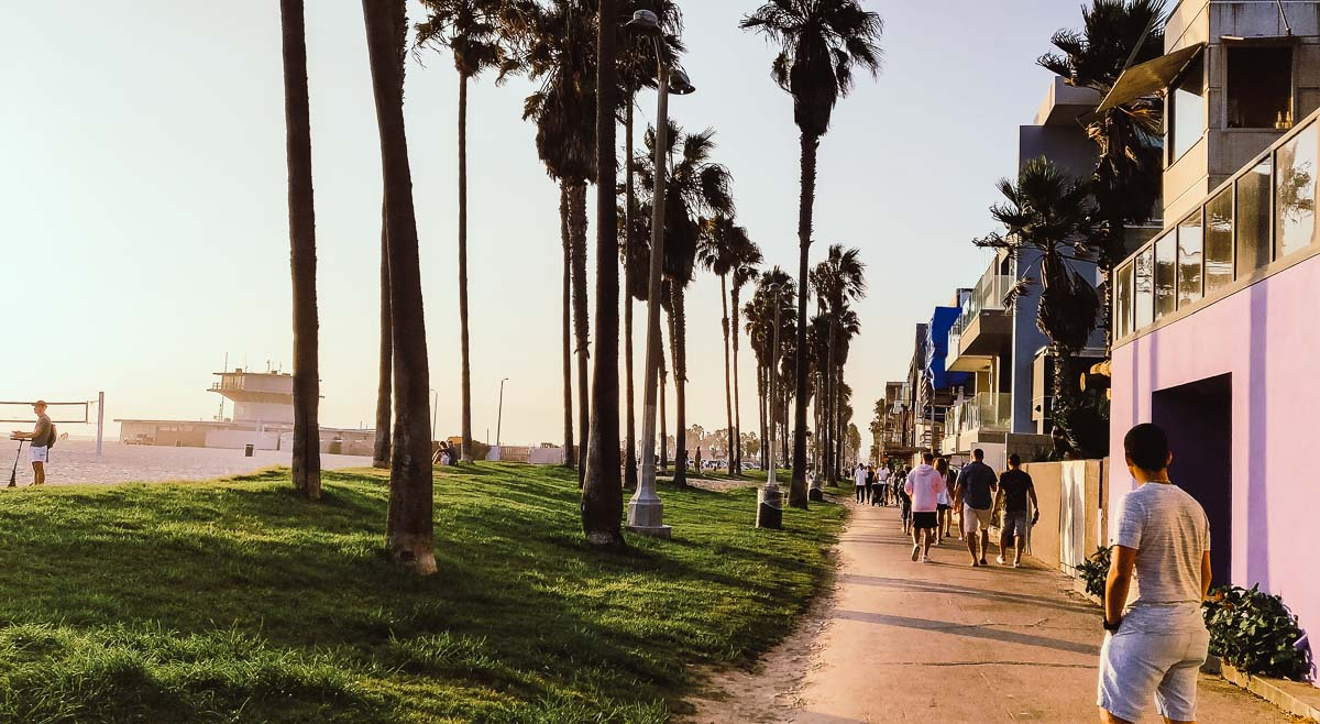se promener à Venice Beach