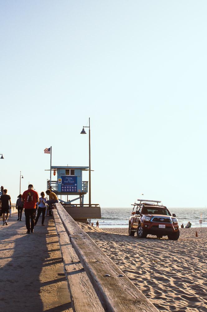 cabane de plage à Venice Beach