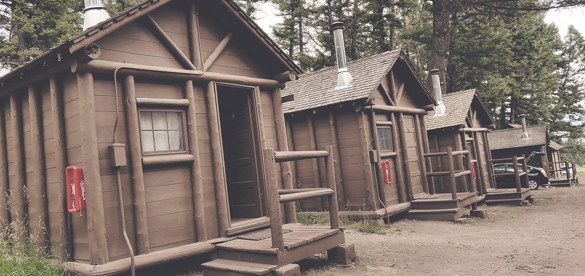 frontier cabin du Roosevelt Lodge