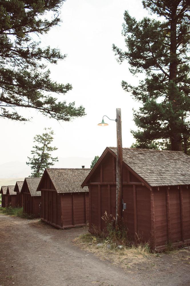 frontier cabin au Roosevelt lodge