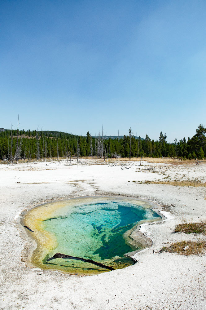 bassin bleu a Yellowstone