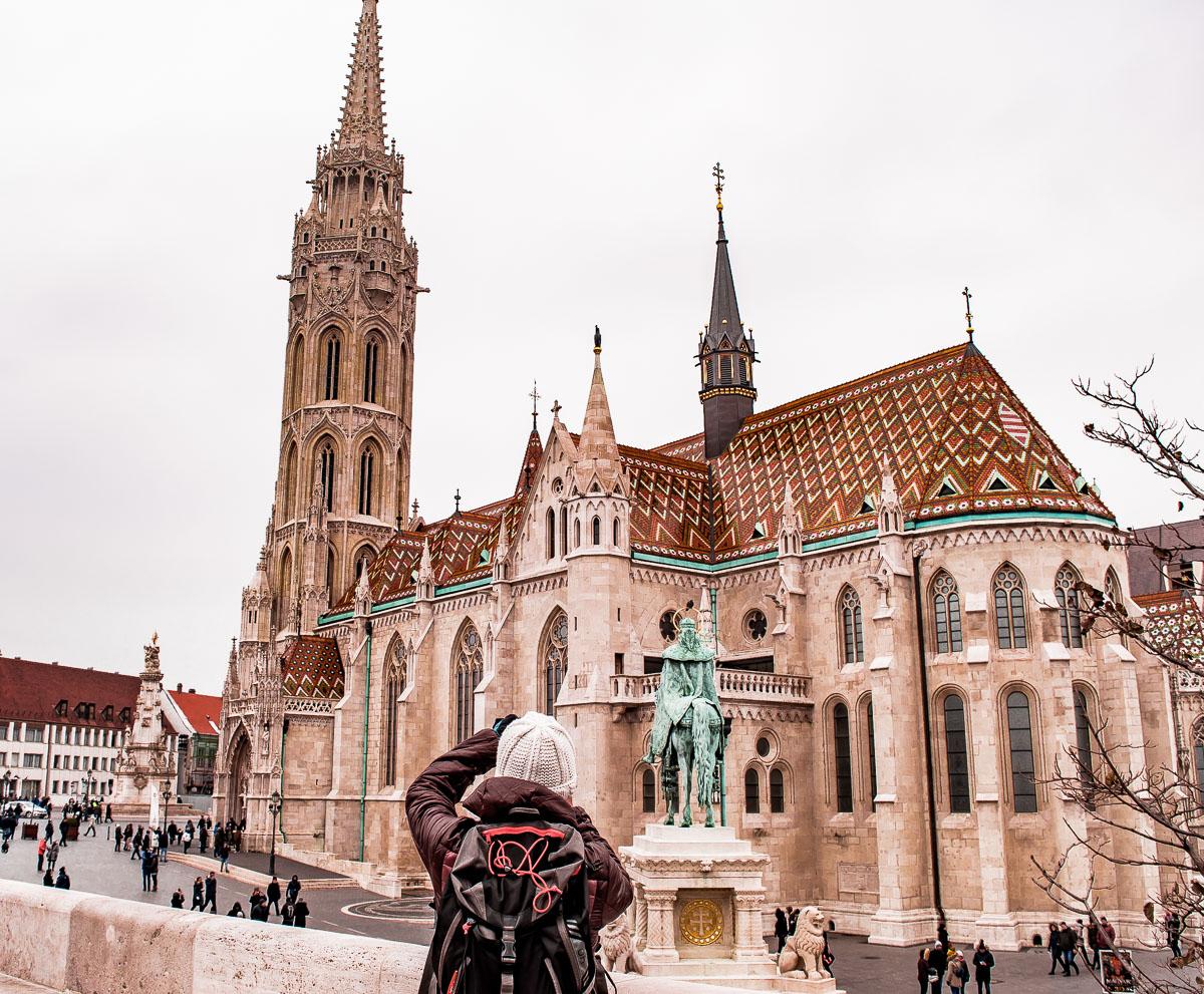 prendre en photo l'église saint matyas