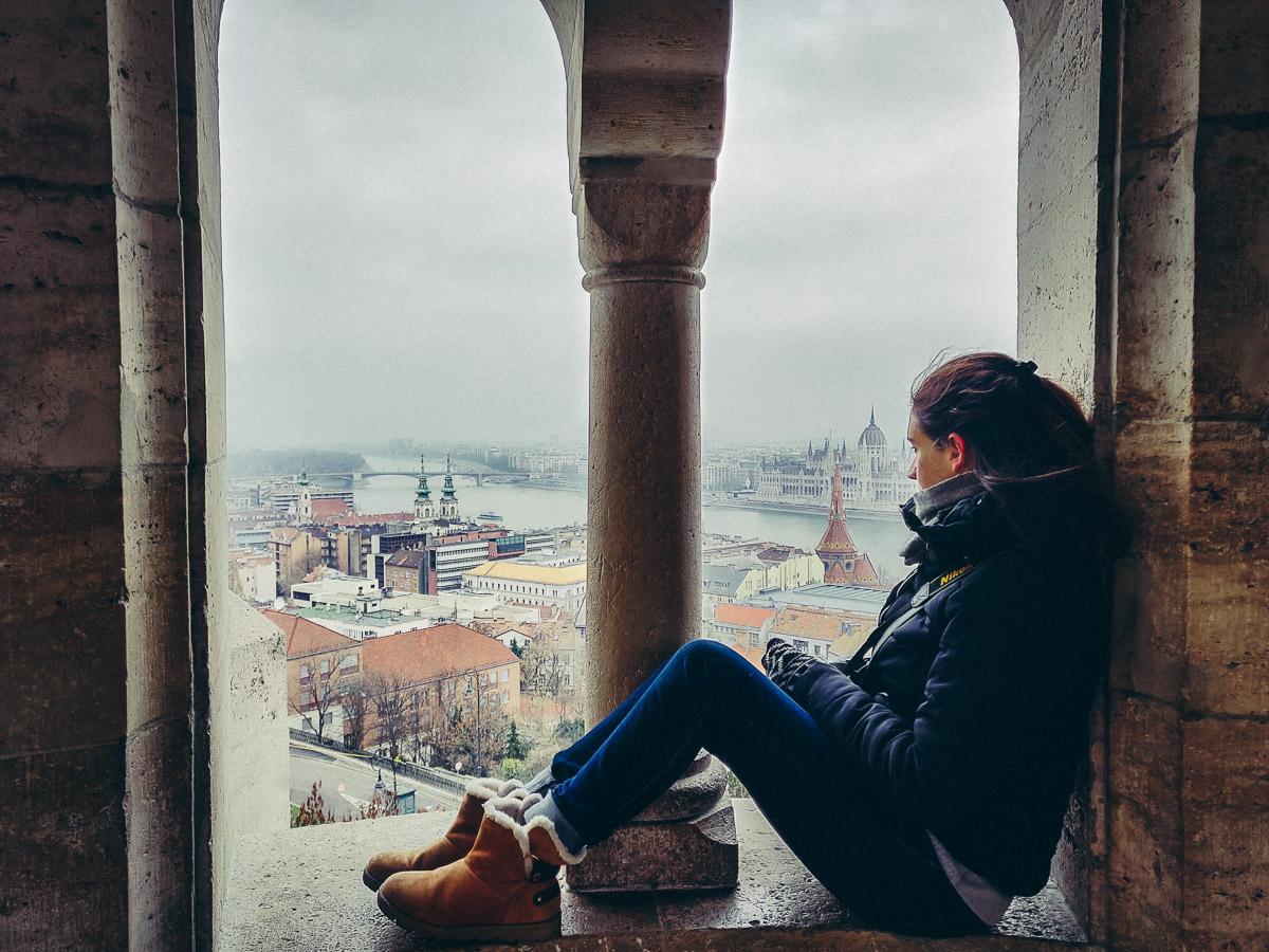 admirer la vue depuis le bastion des pecheurs