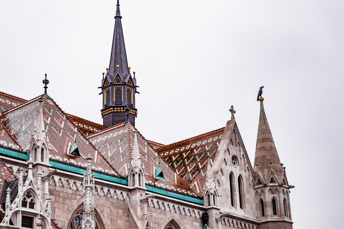église saint mathias à Buda