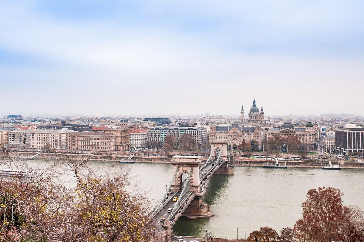 le pont des chaînes de Budapest