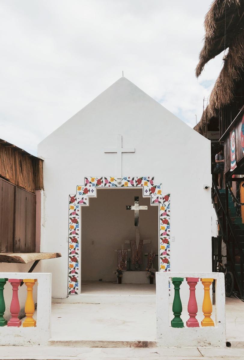 petite chapelle à Holbox