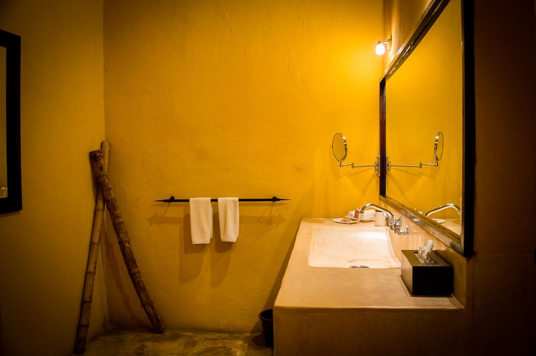 salle de bain hacienda Merida VIP
