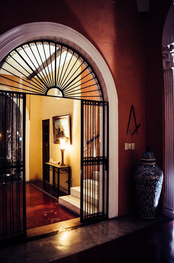 hall hotel hacienda Merida