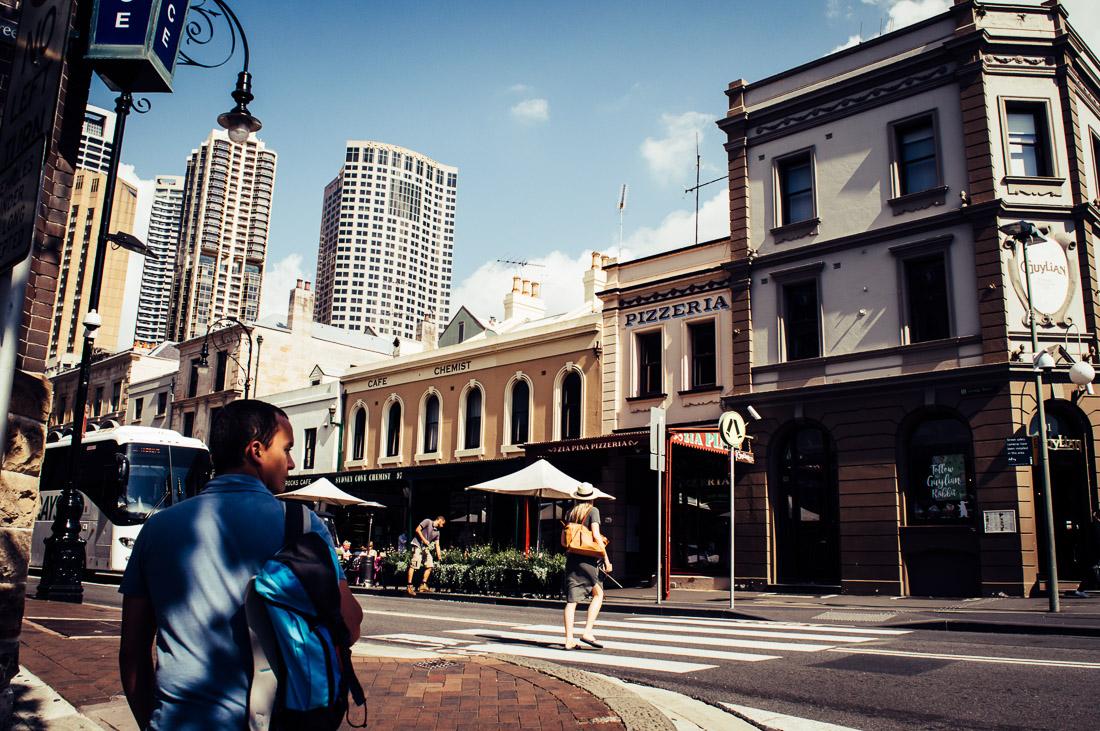 visiter le quartier des rocks à Sydney