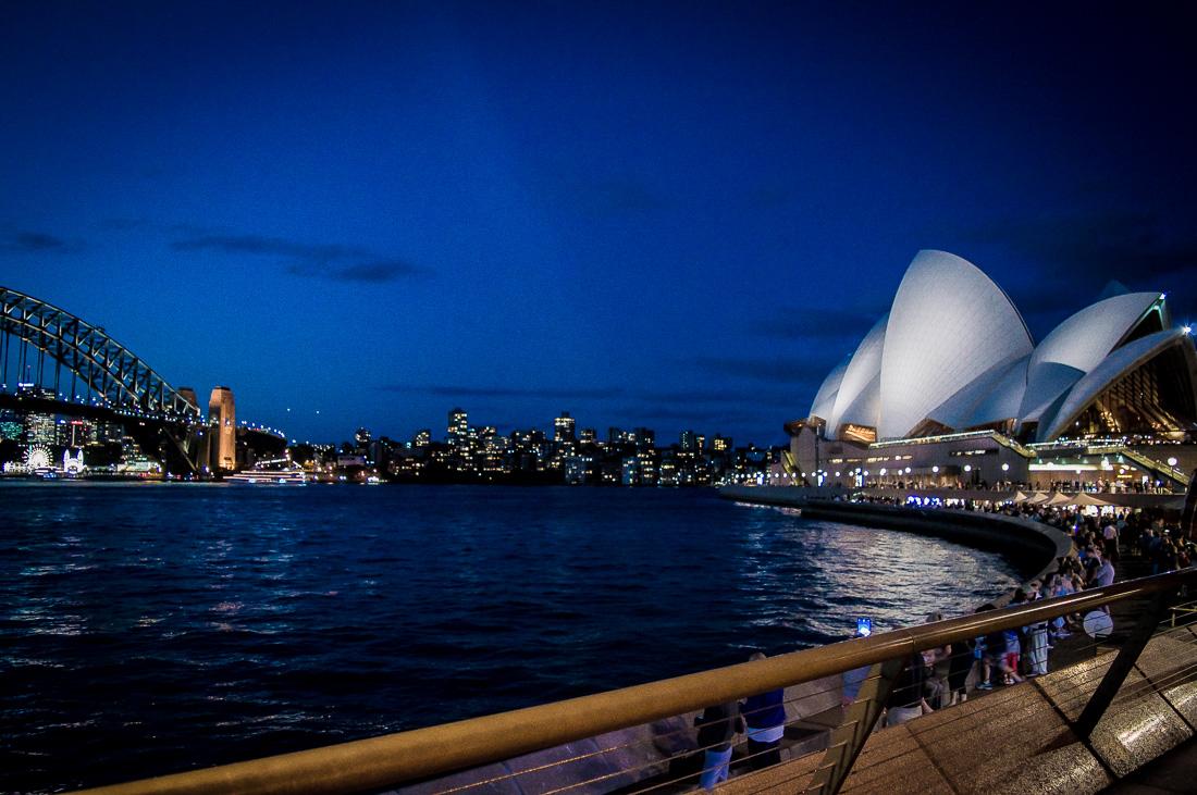meilleur spot pour boire un verre à l'opera bar de Sydney