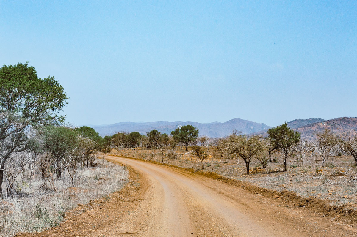 piste en Afrique du sud