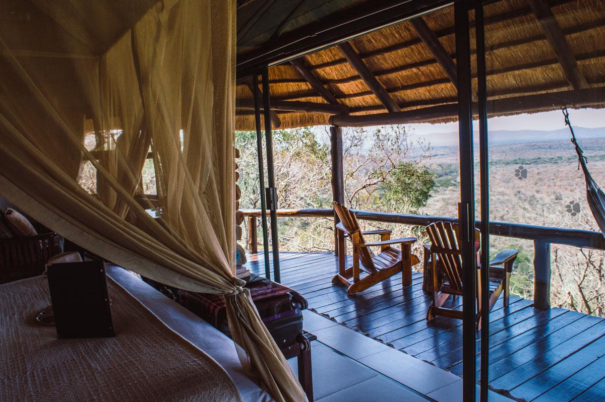 chambre au leopard mountain lodge
