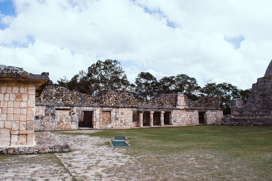 les ruines d'Uxmal