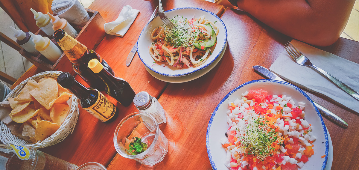 où manger à bacalar ? plats au restaurant la playita
