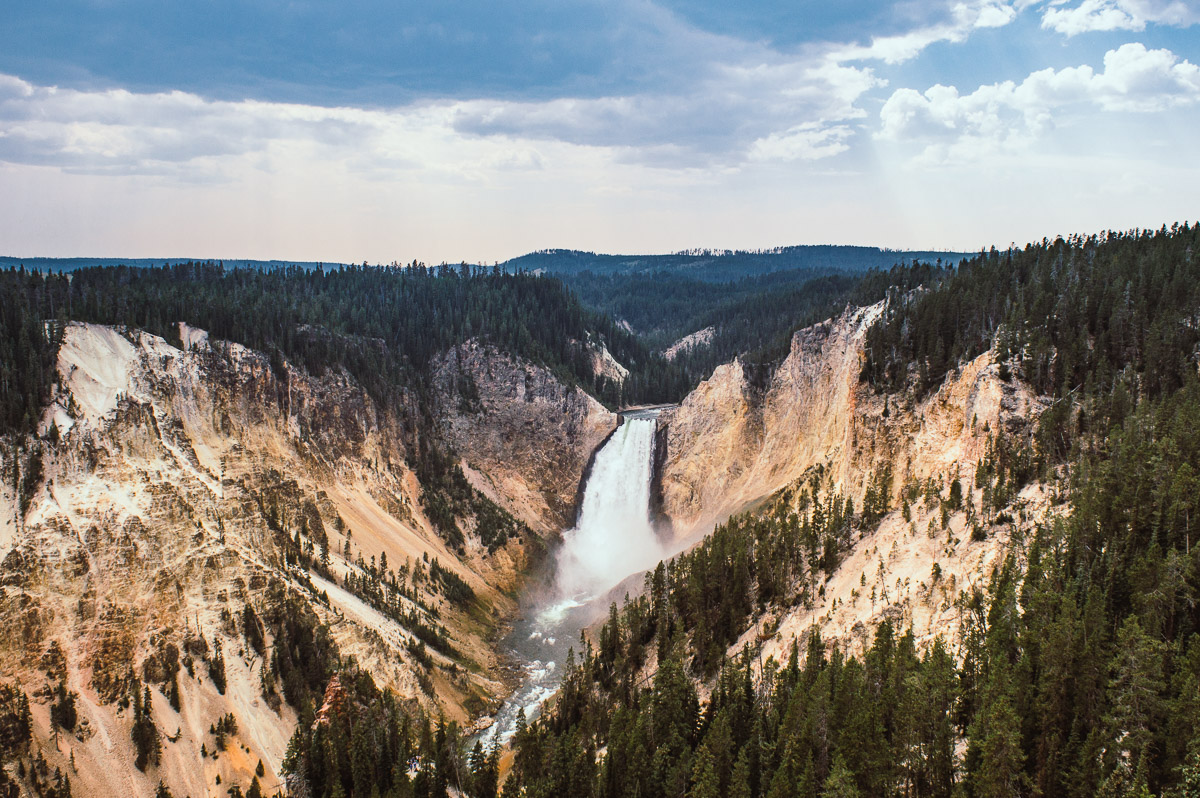canyon de yellowstone