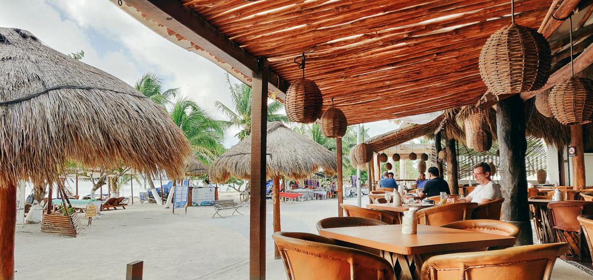 restaurant 40 canones à Mahahual