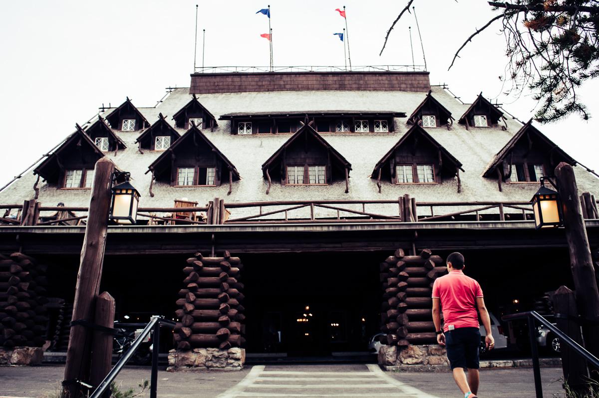 vieil hôtel old faithful