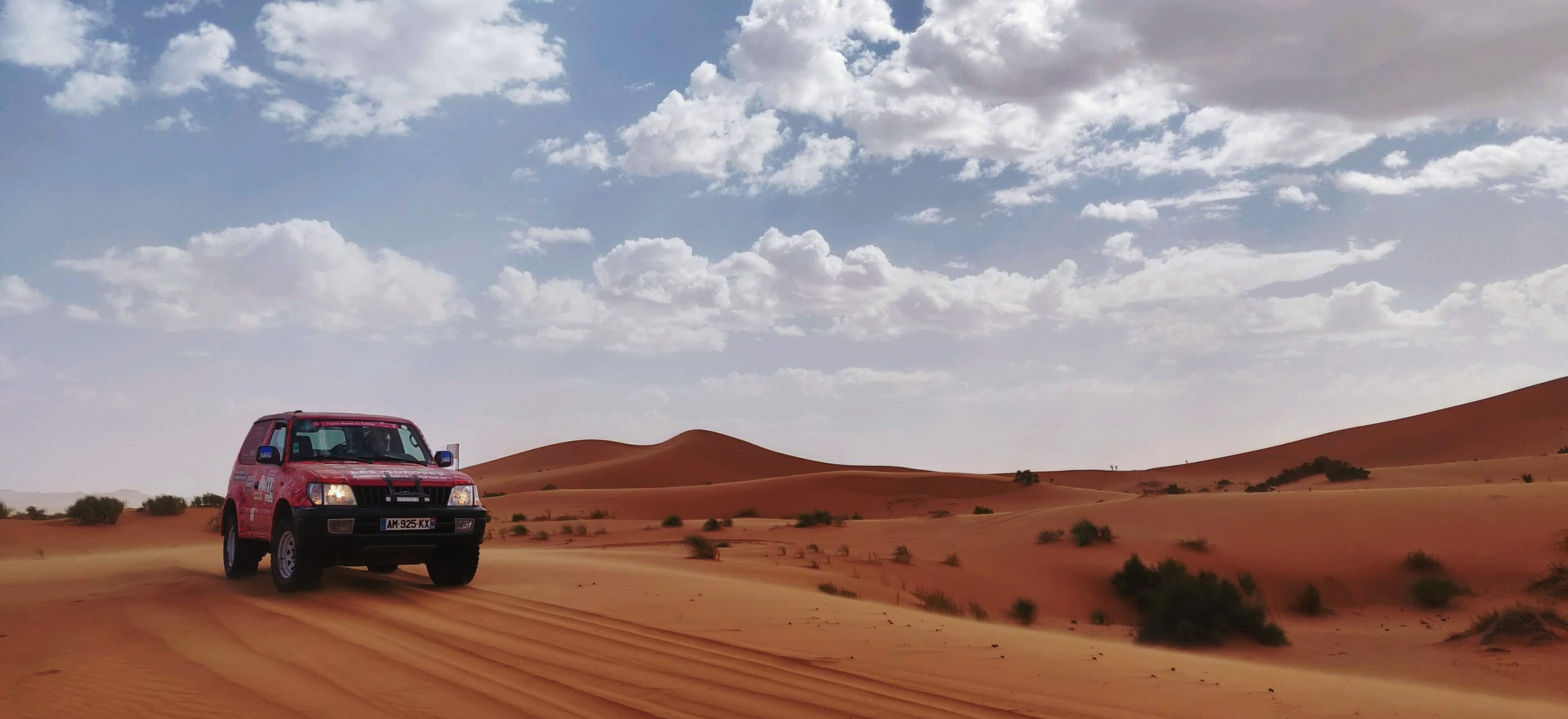 location 4X4 rallye Roses des sables