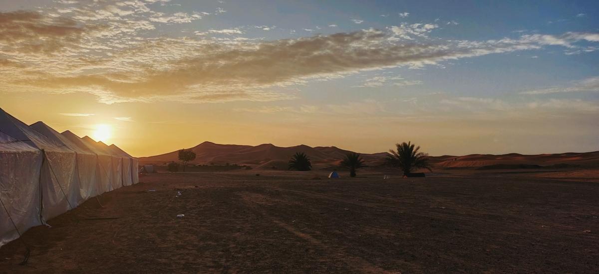 bivouac du trophée roses des sables