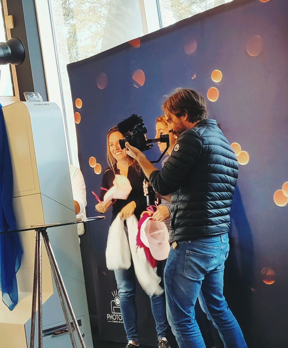 photobooth roses des sables